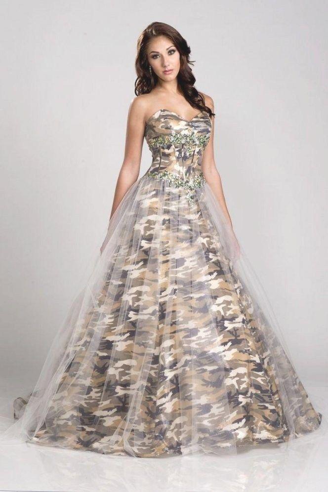 31 Stunning Winter White Camo Wedding Dress 1fc29b716a1d