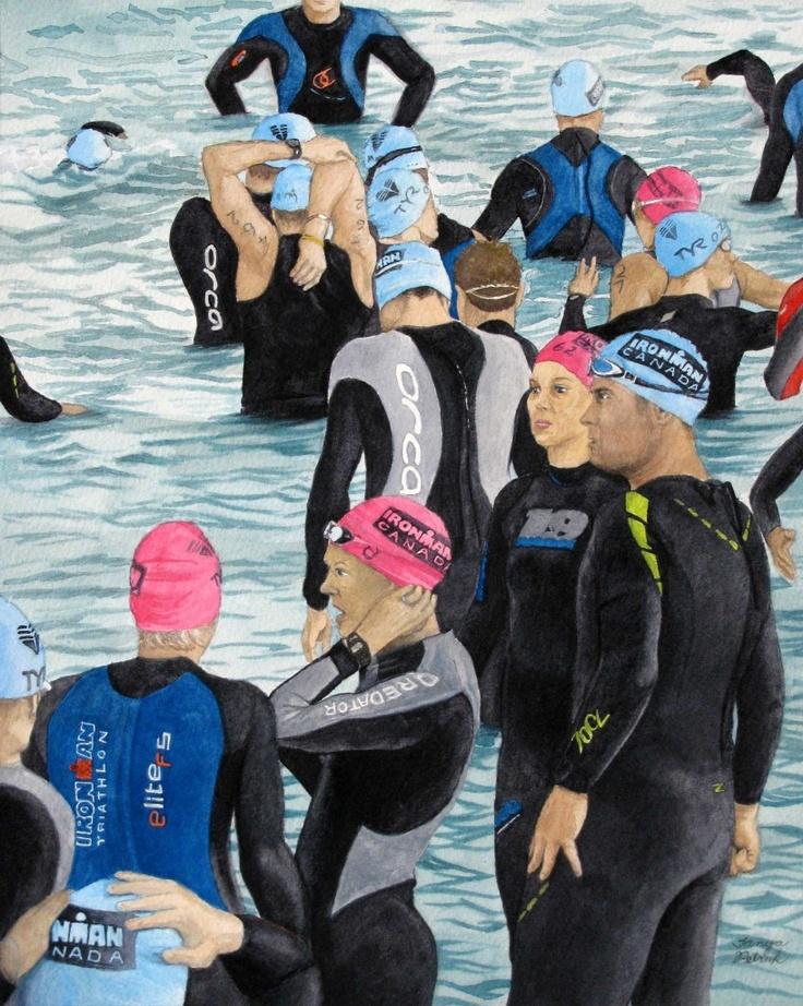 Preparation, by Tanya Petruk, Watercolour, 11X14, $395.00