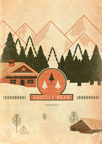 Grizzly Bear music posters