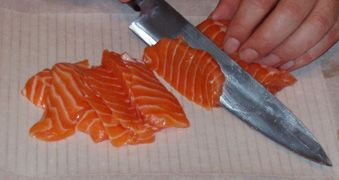 Website all about sushi grade fish - where/how to buy, what kinds and how to store/prepare it. Very useful info