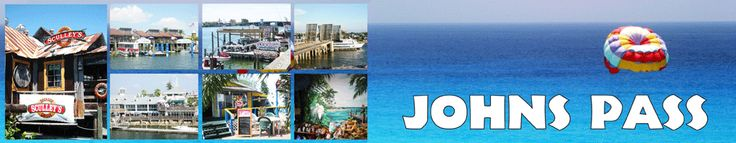 John's Pass- so many fun things to do here- eat, shop, fish, water sports, the beach- somthing for everyone!