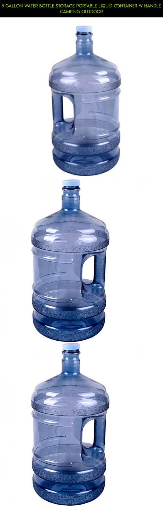 5 Gallon Water Bottle Storage Portable Liquid Container w Handle Camping Outdoor #gadgets #kit #bottle #plans #camera #tech #drone #storage #products #shopping #parts #technology #water #racing #fpv