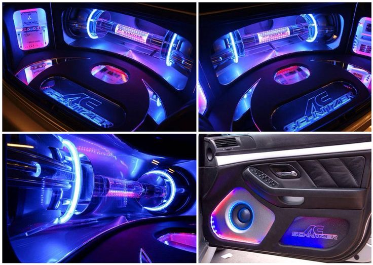 It's like walking down the Vegas strip with all this neon! Check out this custom install done by a company in Germany. The install utilises Alpine, Morel and JL Audio products.