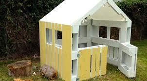 cabane enfant en palettes