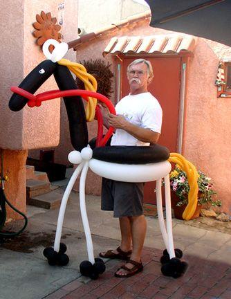 Giant Horse Twist Balloon