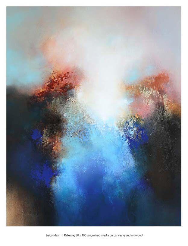 Eelco Maan beeldend kunstenaar I lyrisch abstracte kunst I kleurrijke abstracte schilderijen I visual artist I lyrical abstract art I colorful…