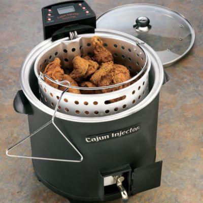 Cajun Injector Electric Fryer #CookwithCabelas