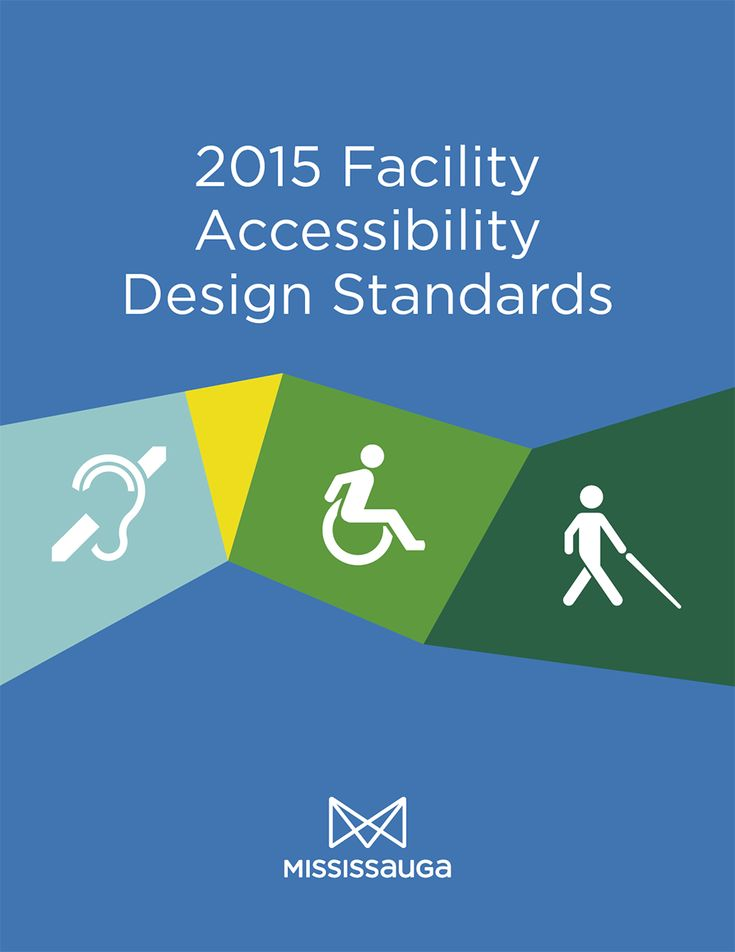 City of Mississauga 2015 Facility Accessibility Design Standards coverpage.