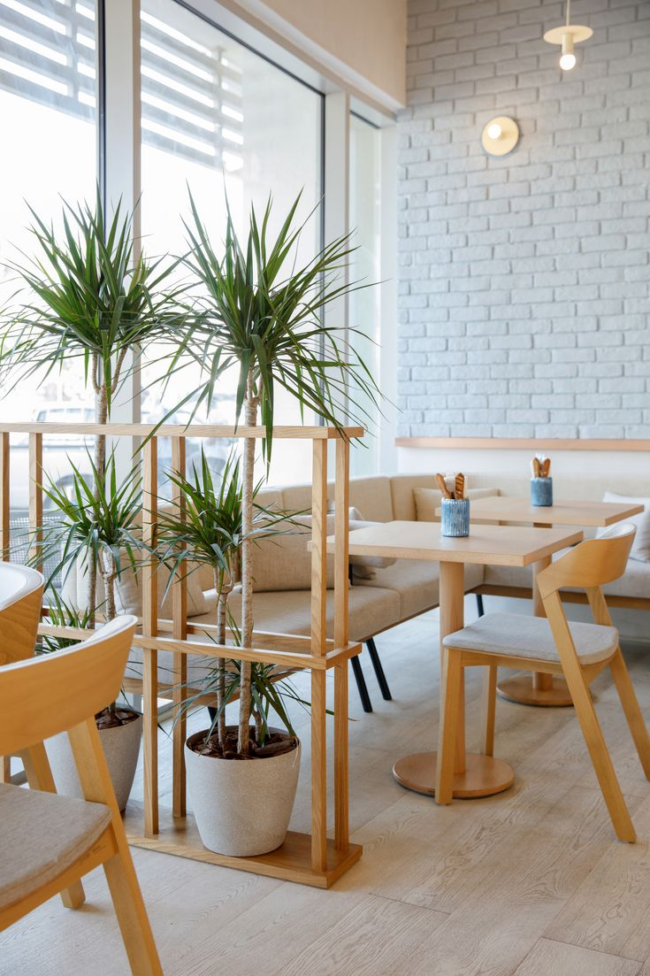 H2R Design Creates Pegboard-Inspired Bagel Yard Café in Dubai | Interior, Interior design, Cafe ...