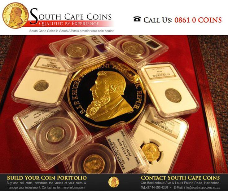 #SouthCapeCoins are premier dealers in rare South African coins, with more than 17 years industry experience. We'll help you assemble the ideal portfolio of rare, investment grade coins to suit your needs and budget. #Coins #budget