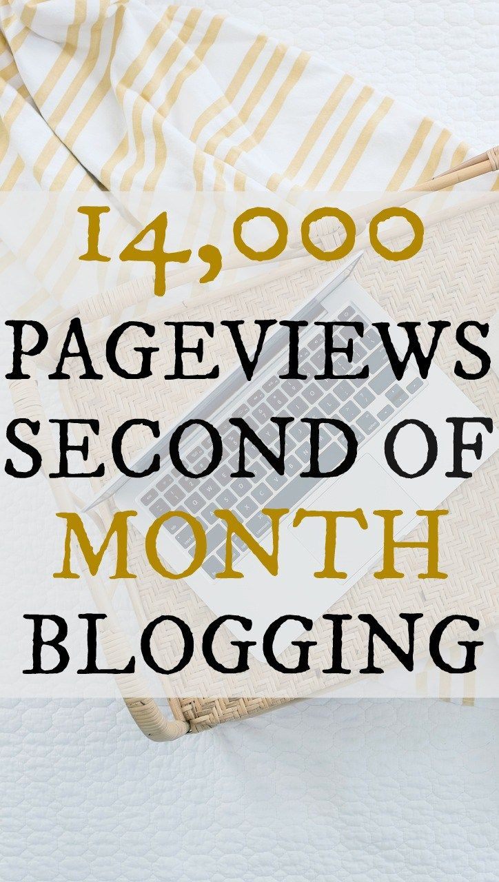 How I went from 0 to 14,000 page views in my second month of blogging.
