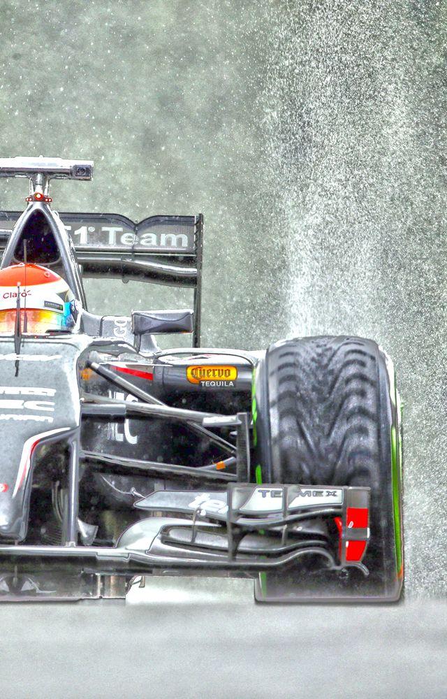 2014 Belgian Grand Prix. Sauber F1 Team