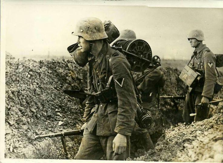 Image result for ww2 german soldier in gustav line