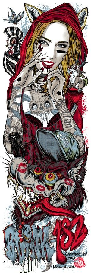 INSIDE THE ROCK POSTER FRAME BLOG: Rhys Cooper Pearl Jam, Blink 182 & Refused Posters on sale