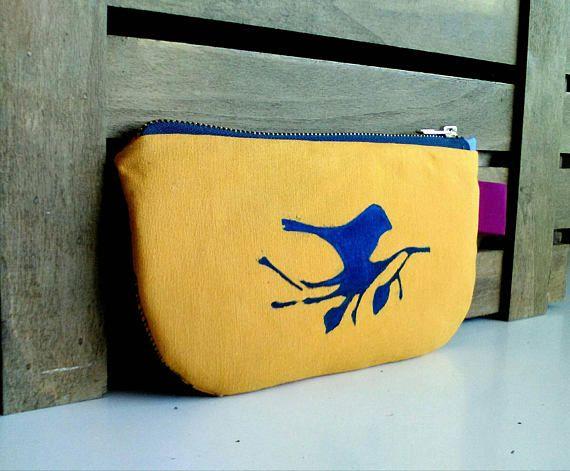 Bird pouch ACCESSORY Case makeup pouch pencil case