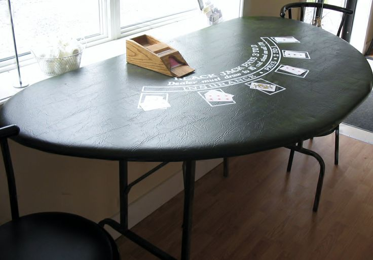 Black Jack Tables (card shoe and chips also available)