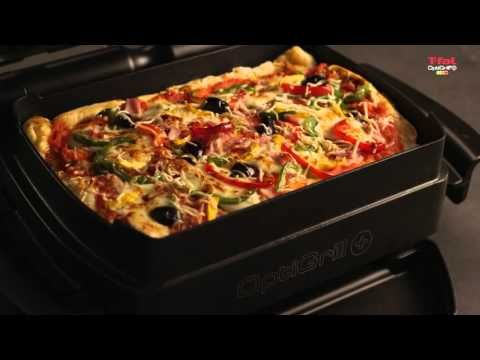 T-fal Optigrill + & Baking Accessory - YouTube