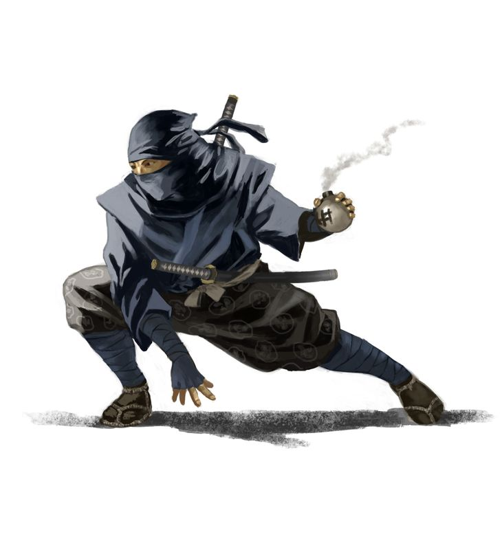 Fifth extra miniature - New Shinobi http://www.indiegogo.com/projects/kensei-fantasy-creatures--2