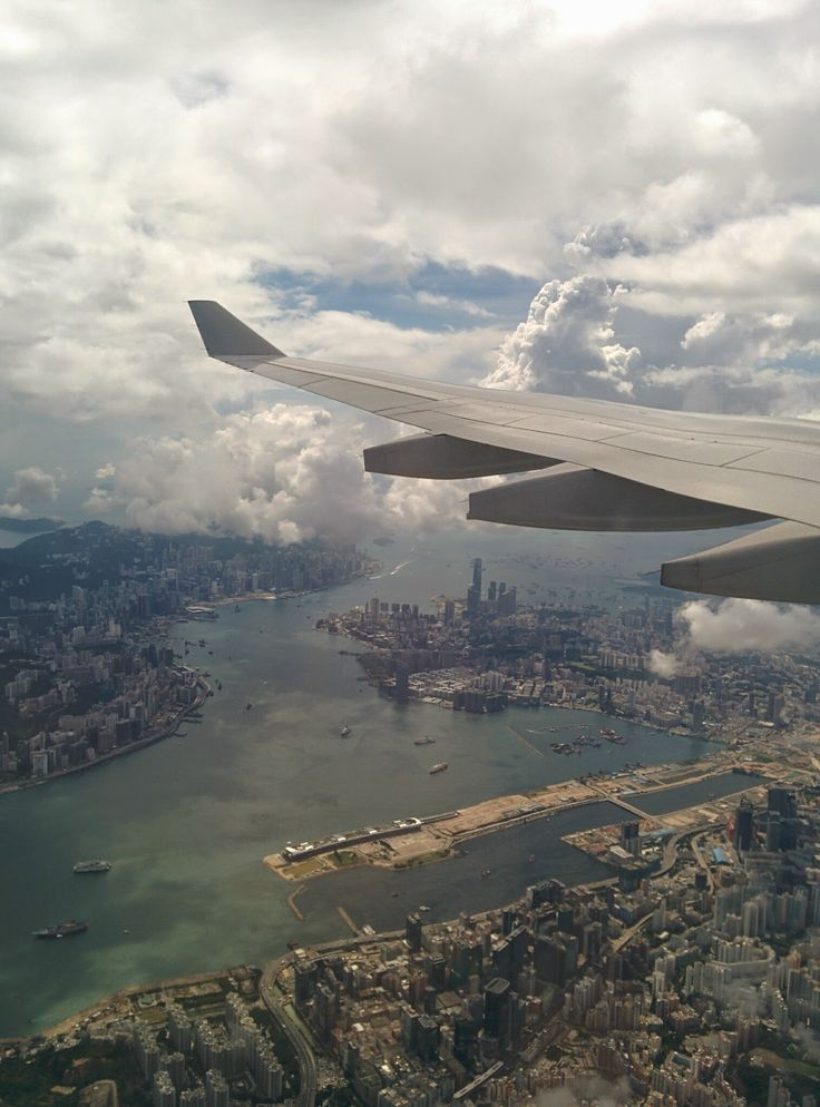 Hong Kong from the sky