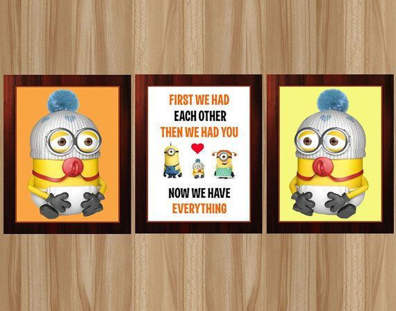 50% OFF Minion Nursery Minion Baby Room Minion by GraphicsByColton