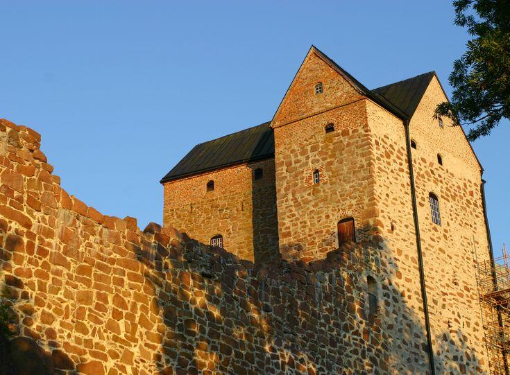 Kastelholman keskiaikainen linna Ahvenanmaalla