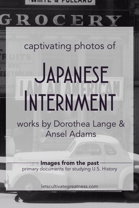 Huge database of hi-res photos of Japanese internment during WWII- Dorothea Lange and Ansel Adams