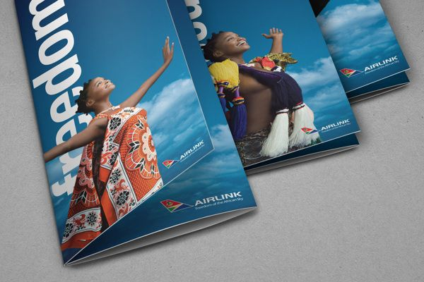 SA Airlink Brand Refresh by Volcano Design, via Behance