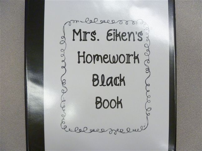 4th Grade Frolics: Thinking Maps and the Black Book!!