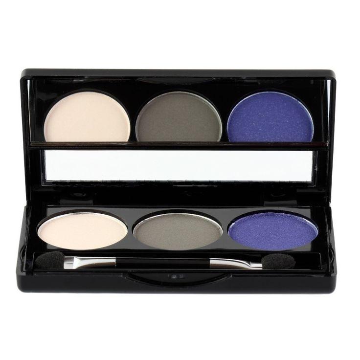 Με το σετ σκιών Trio Eyeshadow από τη limited σειρά της Manhattan, Blogger's Choice θα πετύχετε ένα κομψό μακιγιάζ, που θα αναδείξει τα μάτια σας. Περιλαμβάνει διπλό πινελάκι σκιών και έρχεται σε μία εύχρηστη κασετίνα, για να την έχετε πάντα μέσα στην τσάντα σας.