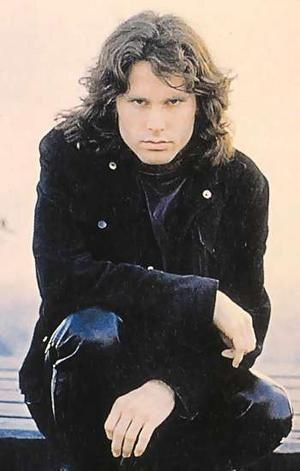 Jim Morrison - the Doors....now resting peacefully in Pere LaChaise Cemetery in Paris. I've visited his grave site people lay subway tickets, coins ,candy ,cigarettes,other little earthly tokens.....interesting.