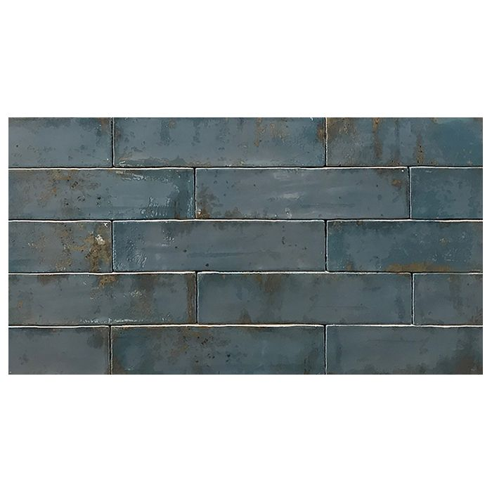 Tesoro Grunge Blue 3 X 12 Wall Tile Wall Tiles Vintage Fireplace Wholesale Tile