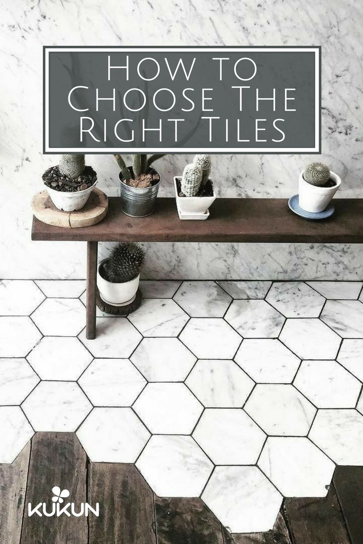 Best 25 transition flooring ideas on pinterest hexagon tiles choosing tile heres what you need to know dailygadgetfo Images