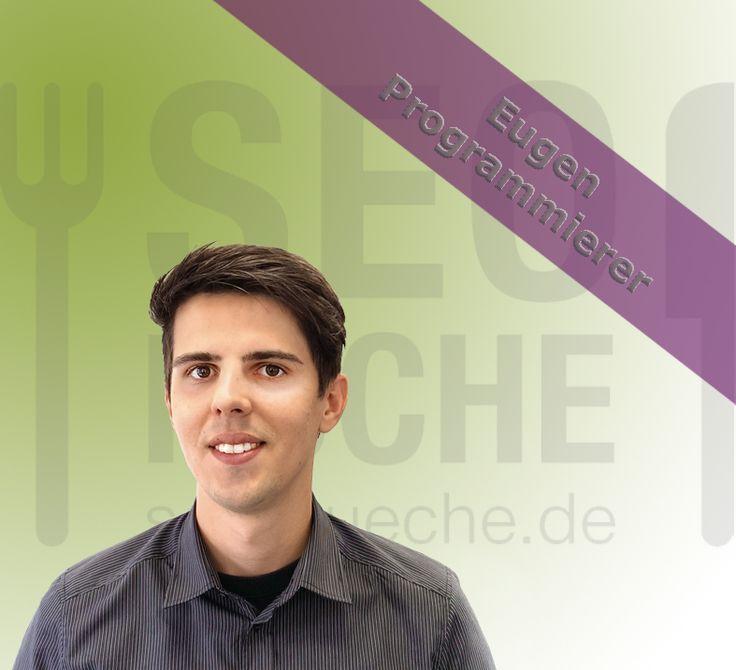 Eugen steht kurz vor dem Abschluss seines Wirtschaftsinformatikstudiums an der Hochschule Rosenheim. Neben dem Studium ist er seit März 2014 in Teilzeit bei der SEO-Küche fest angestellt. Zu seinen Aufgaben gehört die Speed-Optimierung der Kundenwebseiten, Server Verwaltung  & Konfiguration sowie individuelle Template Anpassungen. Für jedes (Kunden-) Problem individuelle Lösungen zu finden ist seine tägliche Herausforderung.