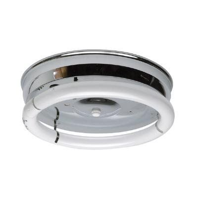 Sunlite 54CR 12-Inch 2-Light Multipurpose Circline Ceiling Fixture, Chrome Finish by SunLite. $31.84. From the Manufacturer                This tough, multipurpose fixture is 12-Inch in diameter, has a Chrome finish and uses one 8-Inch and one 12-Inch Circline fluorescent bulb, making this fixture energy efficient and a smart choice for anyone wanting to save on energy costs.                                    Product Description                54CF Circline Fluorescent F...