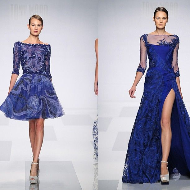 """tony ward on instagram """"some fabulous midnight blue gowns"""