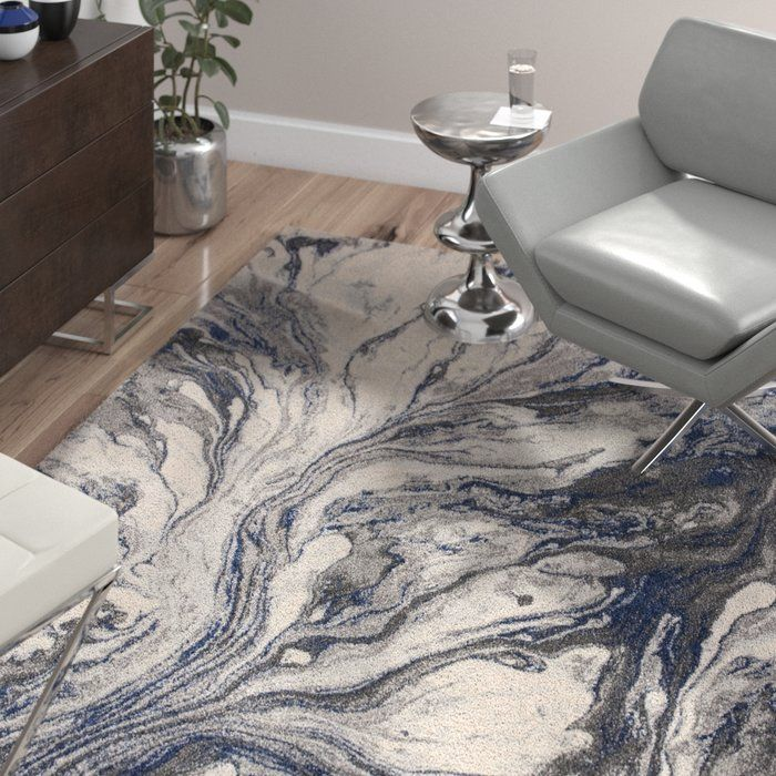 Kaia Gray Watercolors Area Rug Area Rugs Blue Area Rugs Rugs