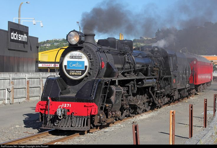 RailPictures.Net Photo: Ja 1271 Steam Incorporated Steam 4-8-2 at Napier, New Zealand by John Russell