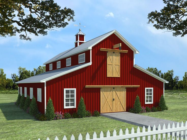 30 Best Barn Plans Images On Pinterest Garage Plans