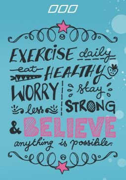 Healthy living inspiration! FBC encourages you to live a happy, healthy, and balanced lifestyle.