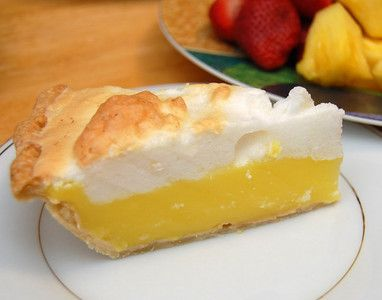 Lemon Meringue Pie, this is the original recipe from the old fashioned Betty Crocker Cookbook. By The Lemonista