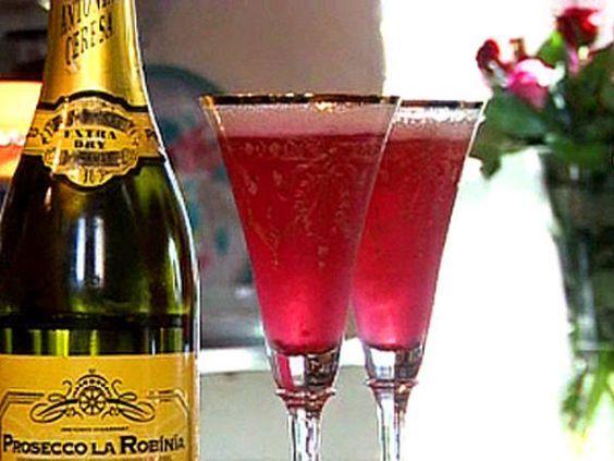 Leilas Prosecco cocktail