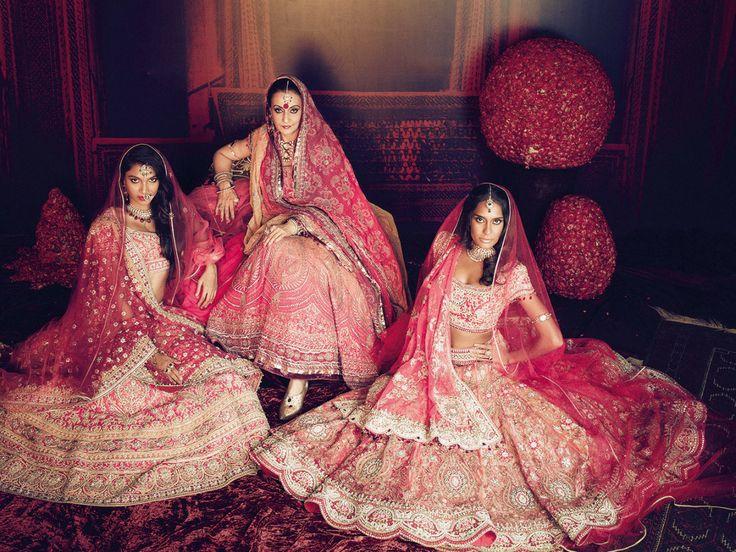 Indian #bridal wear #pink