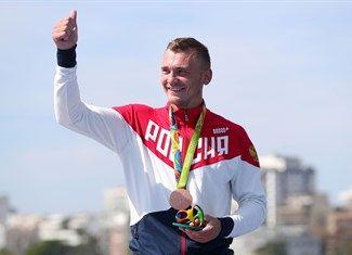 Medal - Anoshkin, Roman - Canoe Sprint - Russian Federation - Men's Kayak Single 1000m - Men's Kayak Single 1000m Final A - Lagoa Stadium