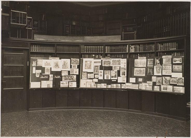 """grupaok: """" Aby Warburg's Mnemosyne Atlas at Kunstwissenschaftliche Bibliothek Warburg, Hamburg, during the exhibition """"Ovid"""", 1927 """""""