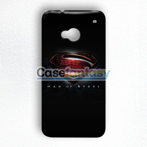 Man Of Steel, Superman 2013 HTC One M7 Case | casefantasy