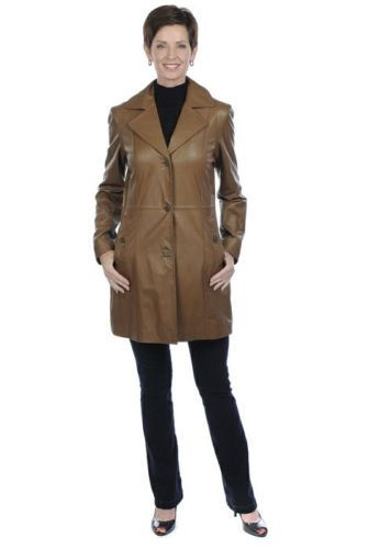 Guillaume Vintage Leather Jacket Soft Brown Size M  Reg. $598.00 Sale $350.00. Achieve a look that will transcend time with this stylish leather jacket from the Case Study Collection by Guillaume. This gorgeous buttery brown lamb leather coat features a variety of thoughtful details that will accentuate any ensemble with its classic look and tailored design. Look fashionably chic and warm, no matter what the weather.