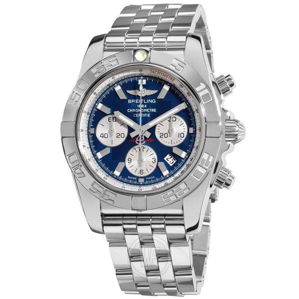 aaa replicas Relojes de lujo suizos Espana Breitling Chronomat B01 44mm ref.AB011012 Este es el Relojes Breitling Chronomat B01 de Breitling de Suiza. En una pantalla atractiva y refrescante de la masculinidad, su ca…