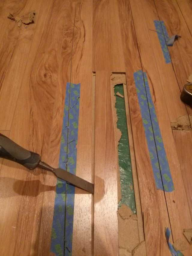 Repairing Water Damaged Laminate Flooring Laminate Floor Repair Wood Floor Repair Laminate Flooring Diy