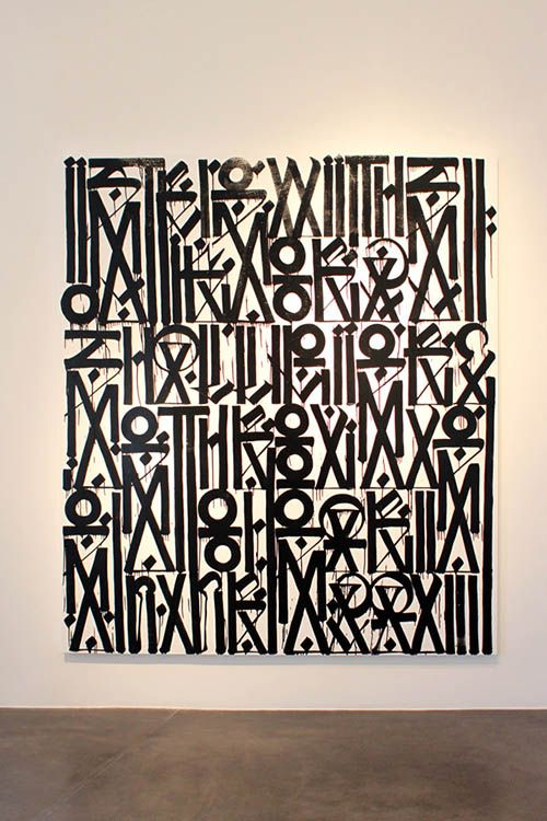 RETNA...I love this work that is seen all over LA