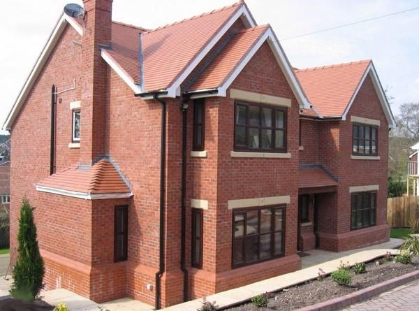 new build large executive home in cheshire whittaker design - New Brick Home Designs
